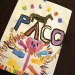 Tekening Paco